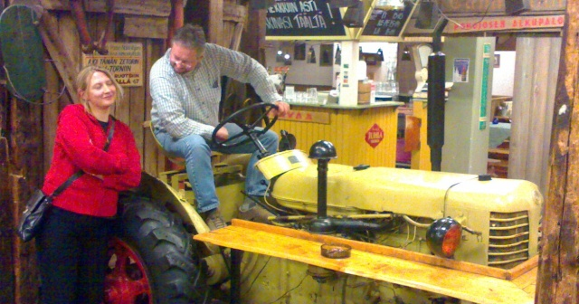 Helsinkis Zetor Tractor Pub