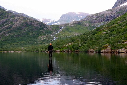 Ove går på vatnet