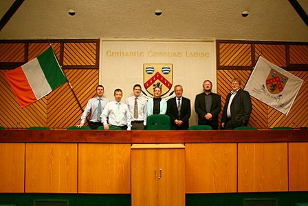 Visiting Laoise County Council