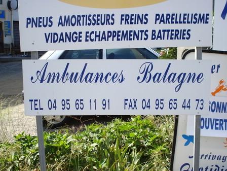 Ambulances Balagne