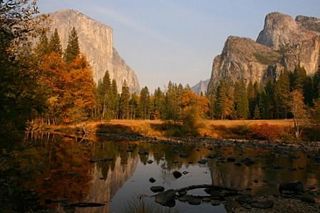 Yosemitedalen sett frå Valley View
