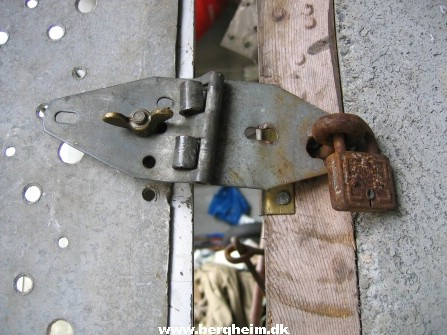 The lock mechanism