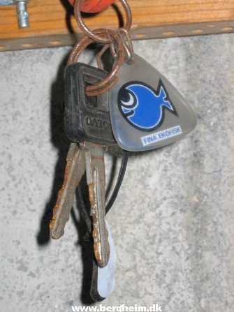 Keys for car condemned in the '80s