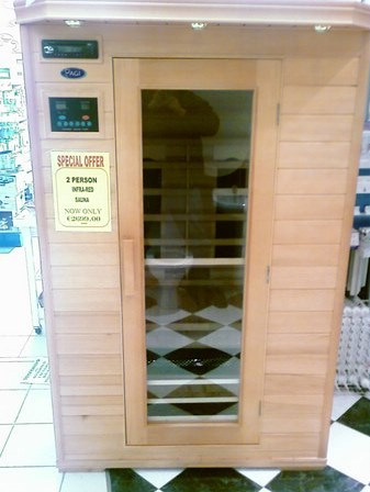 Infra-red sauna