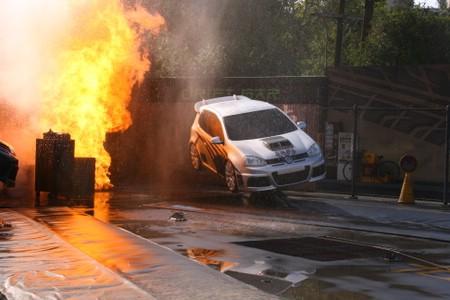 Fast and Furious car crash at Universal Studios