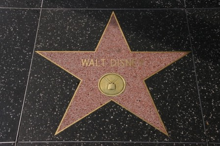 Walt Disney si stjerne på Hollywood Walk of Fame