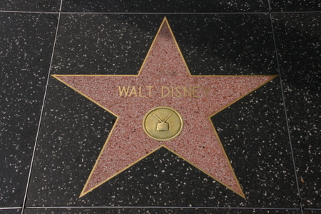 Walt Disney si stjerne på Hollywood Walk of Fame