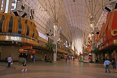 Freemont Street, downtown Las Vegas