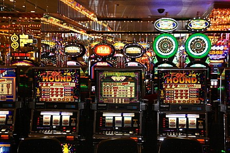 Speleautomatar på Four Queens Hotel & Casino