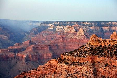 Grand Canyon sett frå Desert View Road