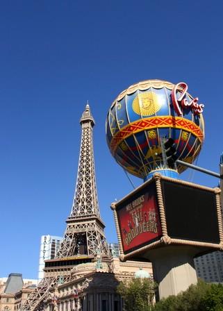Paris, the Las Vegas Strip