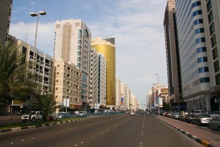 Gatebilete frå Abu Dhabi