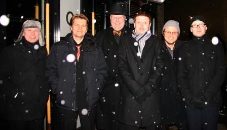 Frå venstre: Are Frode, Eirik, Runar, Kåre, Kjetil og Anders
