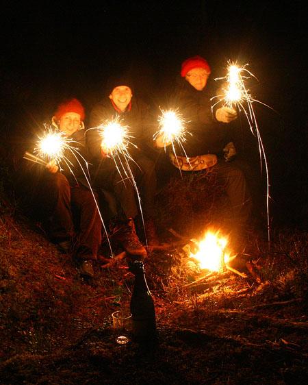 New Year's Eve at Kvithammaren, Sandane