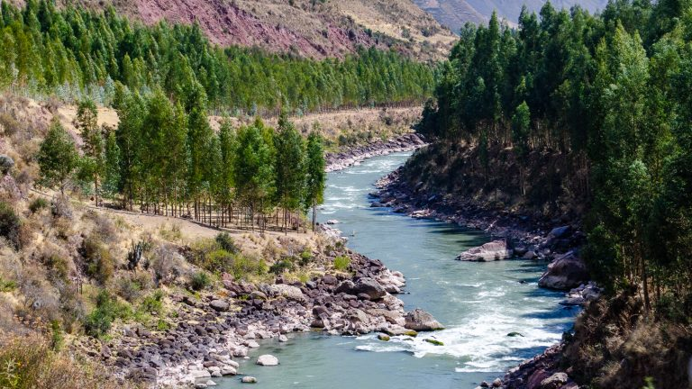Travelling in the Company of the Urubamba River