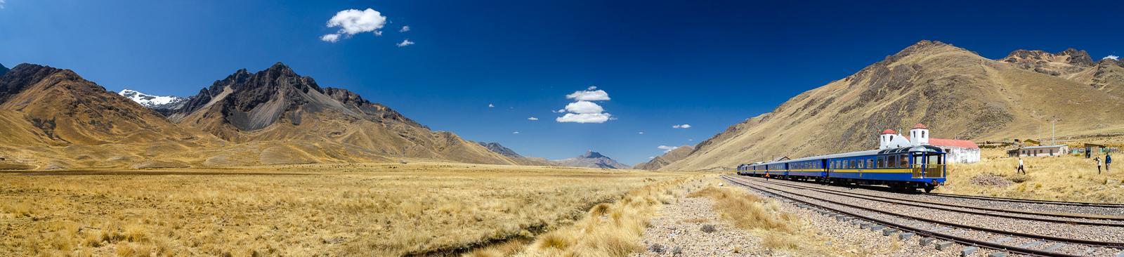 A train to the top of Peru