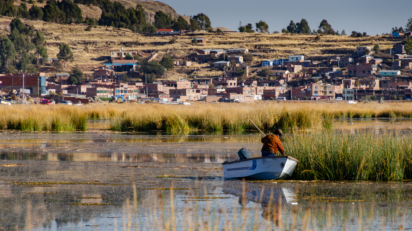 Notes on renting a boat in Puno
