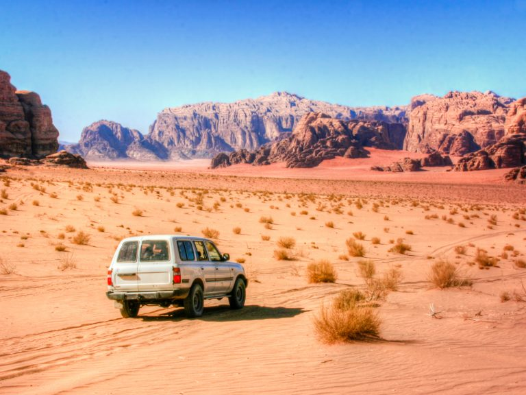 The economic life of a Land Cruiser in Wadi Rum