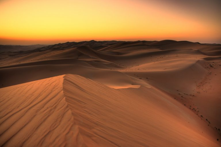 The Dunes of the Rub' al Khali