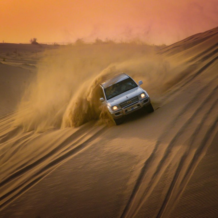 The Eco-Questionable Delights of Dune Bashing